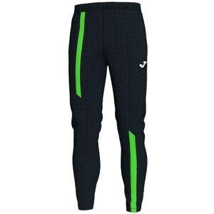 LONG PANTS SUPERNOVA BLACK- FLUOR GREEN čierna-zelená 3XL