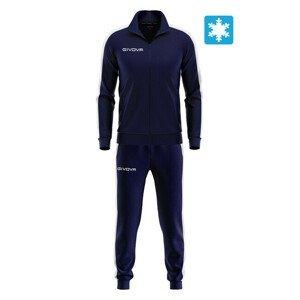 TUTA SWEAT REVOLUTION modrá-biela XL