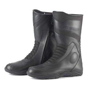 Moto topánky KORE Touring Mid čierna - 38