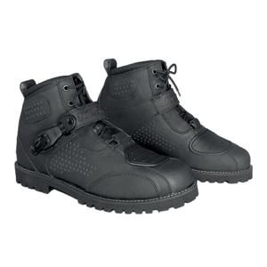 Moto topánky KORE Icone čierna - 41