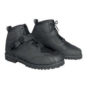 Moto topánky KORE Icone čierna - 48
