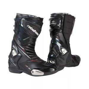 Moto topánky Rebelhorn Lap čierna - 41