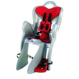 Detská sedačka na bicykel Bellelli B-One Standart strieborná