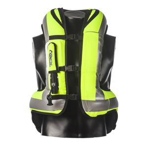 Airbagová moto vesta Helite Turtle HiVis 1 rozšírená žltá - XL
