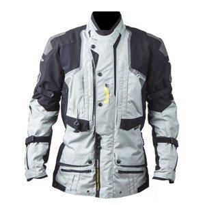 Airbagová bunda Helite Touring textilná šedá - S