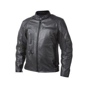 Airbagová bunda Helite Roadster čierna kožená čierna - M