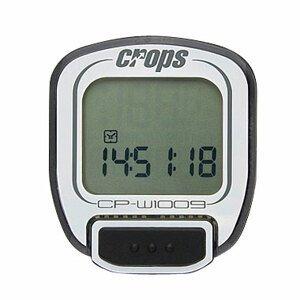 Cyklocomputer Crops W1009 bezdrôtový biela