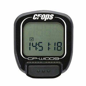 Cyklocomputer Crops W1009 bezdrôtový čierna