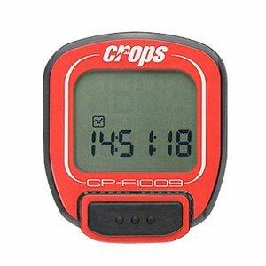Cyklocomputer Crops W1009 bezdrôtový červená