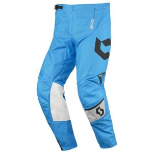 Motokrosové nohavice SCOTT 350 Dirt MXVI šedo-modrá - S (30)
