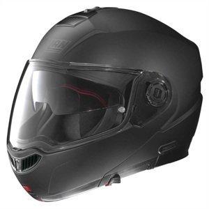 Moto prilba Nolan N104 Absolute Classic N-Com Flat Black - XXL (63-64) - Záruka 5 rokov