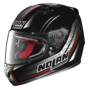 Moto prilba Nolan N64 Moto GP Metal Black L (59-60) - Záruka 5 rokov