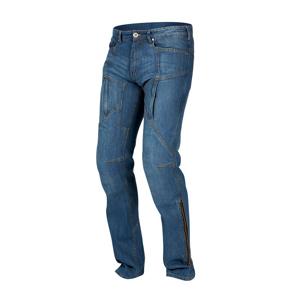 Pánske jeansové moto nohavice REBELHORN Hawk modrá - 36