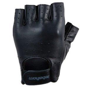 Moto rukavice REBELHORN Rascal čierna - L