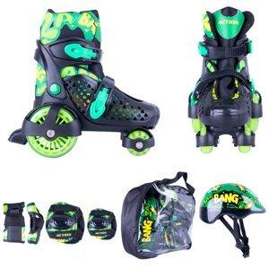Detská súprava Action Darly Boy zeleno-čierna - XS (26-29)