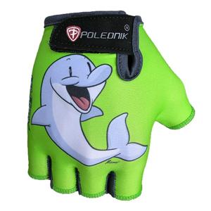 Detské cyklo rukavice POLEDNIK Baby New delfín - 4
