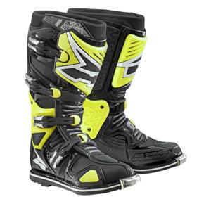 Motokrosové topánky AXO A2 fluo yellow - 44