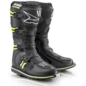 Motokrosové topánky AXO Drone Limited Edition čierna-fluo yellow - 41