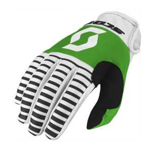 Moto rukavice SCOTT 350 Track MXVII black-white - XL