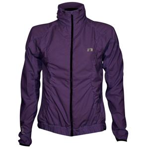 Dámska módna bunda Newline Imotion Ruffle Jacket fialová - XL
