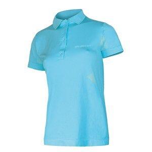 Dámske thermo tričko Brubeck PRESTIGE s golierom modrá - S