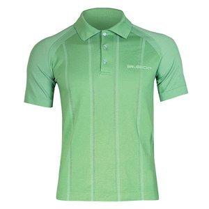 Pánske thermo tričko Brubeck PRESTIGE s limcom zelená - M