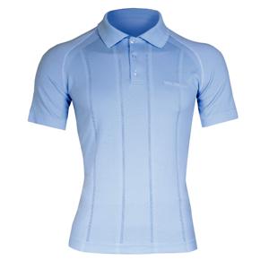 Pánske thermo tričko Brubeck PRESTIGE s limcom modrá - M