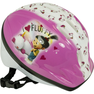 Detská prilba Mimoni Fluffy ružová