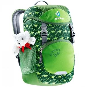 Detský batoh DEUTER Schmusebär 8l zelená