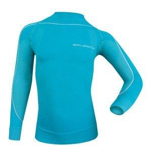Detské thermo tričko Brubeck THERMO s dlhým rukávom modrá - 116-122