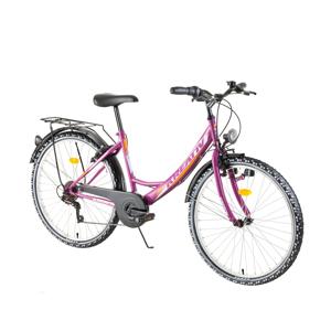 "Mestský bicykel Kreativ 2614 26"" - model 2018 Violet - Záruka 10 rokov"