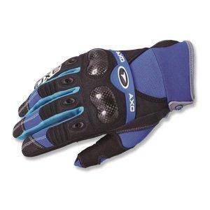Motokrosové rukavice AXO VR-X modrá - M