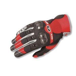 Motokrosové rukavice AXO VR-X červená - S