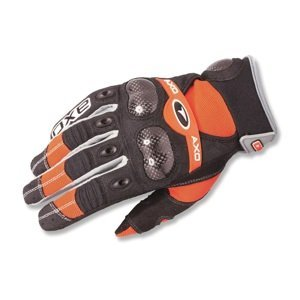 Motokrosové rukavice AXO VR-X oranžová - S