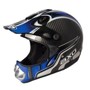 Motokrosová prilba AXO MM Carbon Evo modrá - XS (53-54)