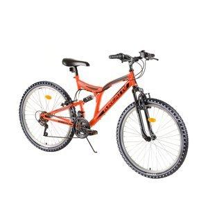 """Celoodpružený bicykel Kreativ 2641 26"""" 3.0 Orange"""