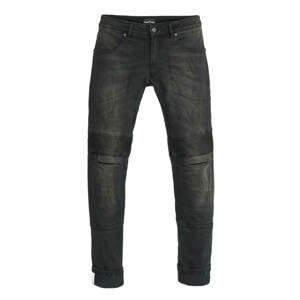 Pánske moto jeansy PANDO MOTO Karl Devil 2 čierna - 30