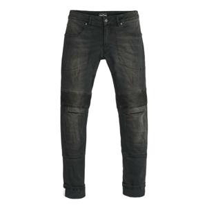 Pánske moto jeansy PANDO MOTO Karl Devil 2 čierna - 31