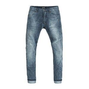 Pánske moto jeansy PANDO MOTO Boss Desert modrá - 36