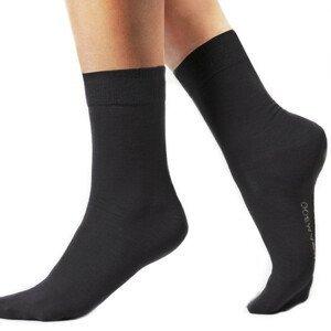 Klasické bambusové ponožky Bamboo čierna - 35/38