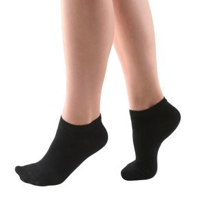 Členkové bambusové ponožky Bamboo čierna - 35/38