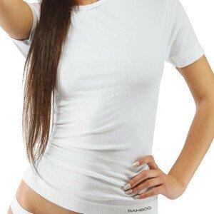 Unisex tričko s krátkym rukávom EcoBamboo biela - L/XL