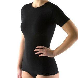 Unisex tričko s krátkym rukávom EcoBamboo čierna - S/M