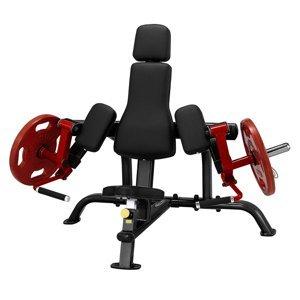 Izolovaný biceps - Steelflex PlateLoad line PLBC čierno-červená - Záruka 10 rokov + Servis u zákazníka