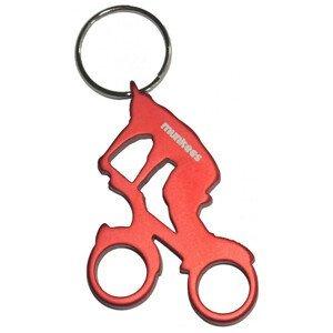 Otvárač fliaš Munkees Biker červená