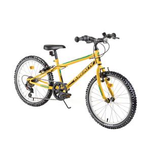 "Detský bicykel Kreativ 2013 20"" - model 2019 Yellow - Záruka 10 rokov"