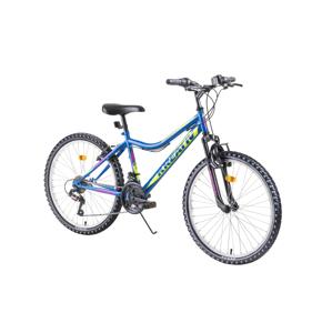 """Juniorský horský bicykel Kreativ 2404 24"""" - model 2019 blue - Záruka 10 rokov"""