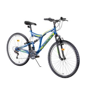 """Celoodpružený bicykel Kreativ 2641 26"""" 4.0 blue - Záruka 10 rokov"""