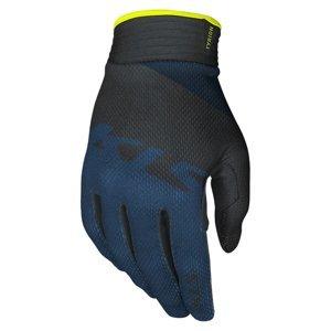 Cyklo rukavice Kellys Tyrion dlhoprsté blue - XS