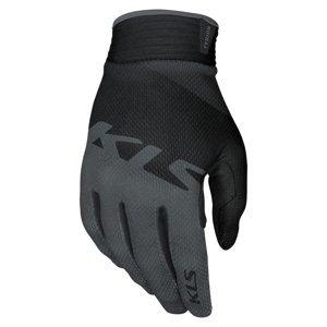 Cyklo rukavice Kellys Tyrion dlhoprsté Black - M